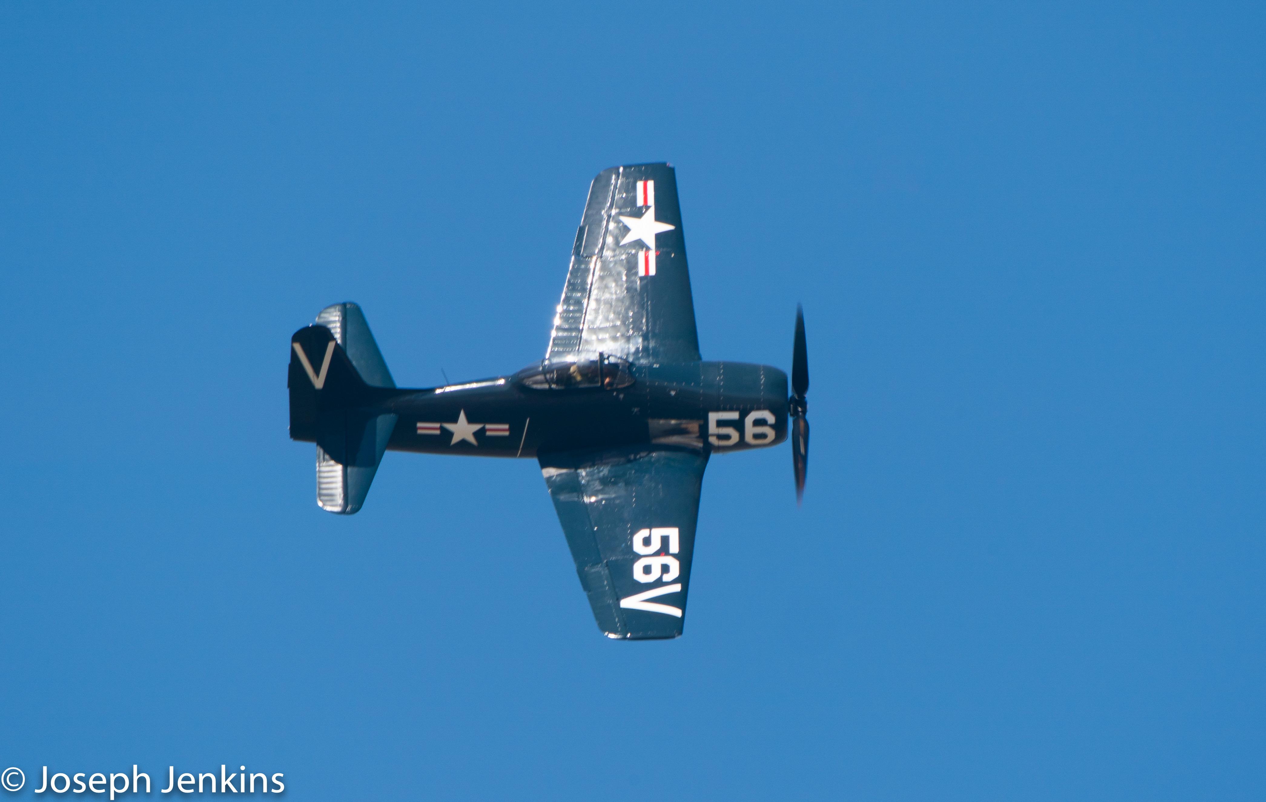 2020 10 3 F8F Bearcat Flyover0441